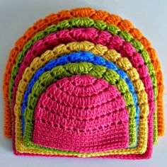 Crochet For Children: Free Basic Beanie Crochet Pattern All Sizes