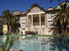One of the gardens of Shiraz.