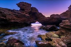 Another magical sunset peeking through an archway at #Warrnambool #Victoria This beautiful photo was taken by the talented @craig_richards_photography. Thanks for the tag and you should definitely go check out his page for more amazing captures like this one #archway #sunset #Vic #seevictoria #explorevictoria #exploreaustralia #seeaustralia #australia #oztourguide by oztourguide