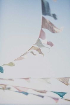 bunting - geometric, gold/feathered/crepe... and galaxy!