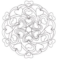 valentine coloring pages pdf