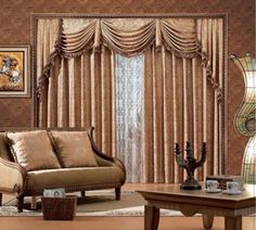 20 Modern Living Room Curtains Design   Home Decor,Decoration