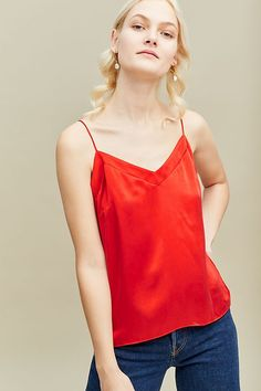 Kachel Riley Silk Cami | Anthropologie UK