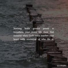 God speak to us and revelation #transformation
