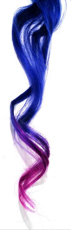 Blue dip dyed hair extensions! https://www.etsy.com/listing/101104737/ombre-inspired-dip-dyed-bright-royal