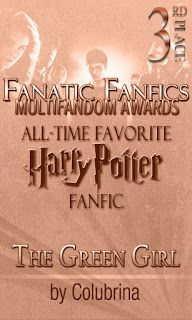 Fanatic Fanfics Awards: 2015 Winners Harry Potter Theme, Green Girl, All About Time, Awards