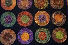 Quilted Batik Placemats by Selkie~gal