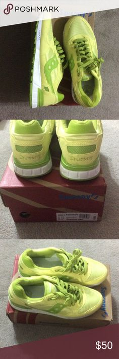 Saucony shadow 5000 sneakers Enjoy this retro Saucony shadow 5000 women's sneakers are incredibly comfortable walking running shoe. It's a must have to enjoy and experience especially in this unique pretty lime and yellow Saucony Shoes Sneakers
