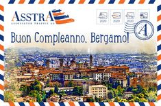 #asstra #bergamo #italy Postcards, Italy, Italia, Greeting Card