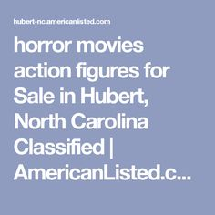 horror movies action figures for Sale  in Hubert, North Carolina Classified   AmericanListed.com
