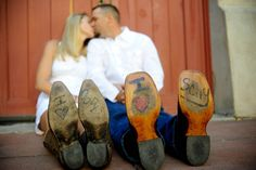 cowboy engagement pictures | & Cody's Fort Worth Stockyards Engagement Session | Austin Wedding ...