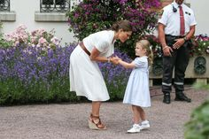 Pin for Later: Princess Victoria Celebrated Her Birthday Wearing Summer's Must-Have Shoe She Paired the Piece With a Belt and Some Wedges — aka the Perfect Summer Shoe