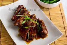 Braised Honey Pork Ribs - Christine's Recipes: Easy Chinese Recipes | Easy Recipes