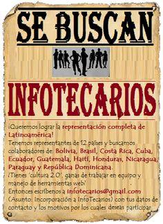 Se buscan @InfoTecarios, ¡súmate a nuestro equipo!