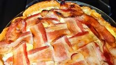 What a great breakfast grilling idea when tailgating! Two thumbs up (plus one more for mmmmm bacon) Bacon Pie, Bacon Bacon, How To Double A Recipe, Recipe For 4, Bacon Breakfast, Breakfast Recipes, Campfire Food, Tailgating Recipes, Smoker Recipes