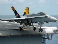 F18 taking of from aircraft carrier