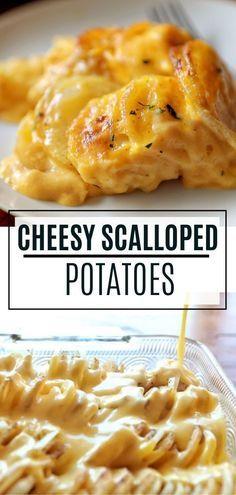 Cheesy Scalloped Potatoes Recipe | I Am Baker