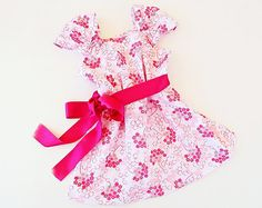 BLOSSOM Girls Dress sewing pattern PDF download Easy by PUPERITA, $6.00