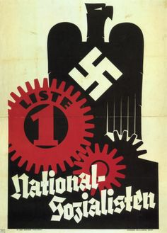 designer Unknown, 1 9 3 2, National Socialists. (Germany)