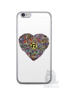 Capa Iphone 6/S Coração Personagens - SmartCases - Acessórios para celulares e tablets :)
