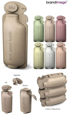 Guuute Idee Creative Eco-Friendly Packaging Design for Inspiration - Packaging Design Inspiration Yo Food Packaging Design, Beverage Packaging, Bottle Packaging, Cosmetic Packaging, Packaging Design Inspiration, Brand Packaging, Product Packaging Design, Banner Design, Design Food