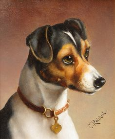 Carl Reichert ~ painter of genre, animals and town scenes, Reichert was born in Vienna on August 27 1836 and died in Gratz on April 5 1918. He was the son of the portrait and animal painter Heinrich Reichert, the brother of Heinrich Reichert who painted theatre scenery and the nephew of Bonfiaz Heinrich and Franz Heinrich Reichert. Carl was a student at the Academy of Drawing in Gratz with J. Tunner and E. Chr. Moser. He then studied in Munich and from 1866 to 1867 in Rome with Ludwig Joh…