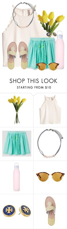 """~humble yourselves~"" by flroasburn on Polyvore featuring NAKAMOL, Ray-Ban, Tory Burch and Jack Rogers"