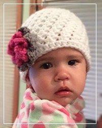 7a19c339483 12 Days of Christmas NICU Hat Challenge  Olivia s Preemie Crochet Hat  Pattern