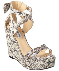 JIMMY CHOO Jimmy Choo Naomi 120 Wedge Sandal'. #jimmychoo #shoes #sandals
