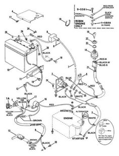 ea939a1e80738ecf8bb18526ca72fa1a alternator wiring diagram alternator pinterest ford, karting snapper solenoid wiring diagram at webbmarketing.co