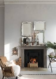 Dimpse Festive Living Room from Farrow & Ball Cottage Living Rooms, Home And Living, Living Spaces, Cozy Living, Farrow And Ball Paint, Farrow Ball, Salons Cottage, Fine Paints Of Europe, Period Living