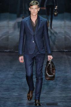 Janis Ancens | Gucci Fall 2012 Menswear | JANUARY 16, 2012 MILAN