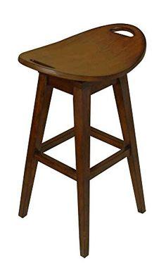 "Thoroughbred 32"" Backless Swivel Bar Stool in Cherry Carolina Accents http://www.amazon.com/dp/B001UJUH30/ref=cm_sw_r_pi_dp_IBN2vb12GYNWK"