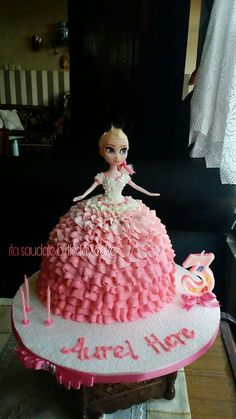 My punk doll cake