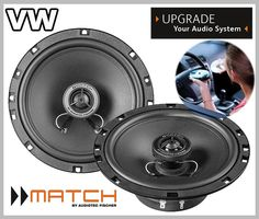 VW NEW BEETLE 1996 - 2010 car speakers upgrade kit front doors from Match by Audiotec Fischer Helix Brax Beetle Car, Vw Cars, Audio System, Front Doors, Way To Make Money, Spaces, Halloween, Awesome, Funny