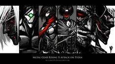 Metal Gear Rising X Attack on Titan Wallpaper by Accuracy0 on DeviantArt