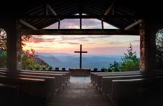 Pretty Place Chapel ~ Greenville, South Carolina...holy gorgeous