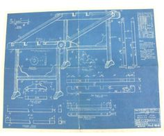 Original Blueprint for Mountain Mist by SweetAnniesVintage on Etsy, $20.00