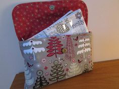Christmas Cash Envelope System  Cash Wallet  by daisylanedesign, $41.00