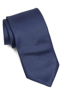 Michael Kors Fine Stripe Silk Tie