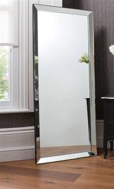 5ft10 x 2ft6 178cm x 76cm LARGE SINGLE EDGE MODERN FRAMELESS BIG WALL MIRROR NEW | eBay