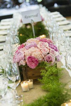 Photography: Ellis Photo Studio - www.ellisphotostudio.com  Read More: http://www.stylemepretty.com/mid-atlantic-weddings/2014/04/25/elegant-pink-north-carolina-wedding/