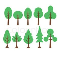 Cartoon Tree stock vector