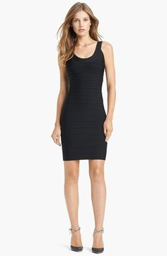 Herve Leger U-Neck Bandage Dress- Great for interview!