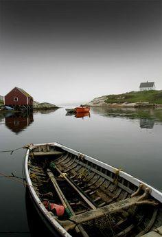 Still Cove 2 by Richard Calmes New England Cruises, Atlantic Canada, Float Your Boat, Old Boats, The Great Escape, Fishing Villages, Canada Travel, Nova Scotia, Terra