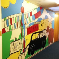 25 Best Murals For Schools Images Hand Painted Walls