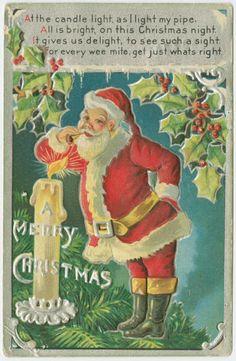 Cartões de Natal Antigos - Vintage Christmas Cards