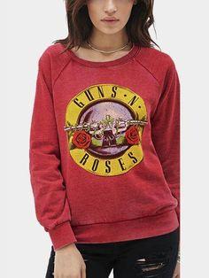 1dcbf619c70438 Rose and Letter Print Sweatshirt - US 27.95