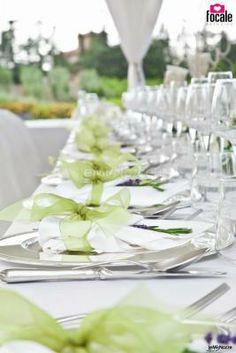 ... matrimonio allestito sui torni del # verde 2 1 1 il mio matrimonio