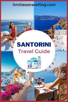 For many years, Santorini has been on the list of the top 50 places around the world that are worth visiting at least once in a lifetime and it's really worth to visit! If you want to spend the best vacations in Santorini, check below the ultimate travel guide. | Santorini travel guide | Santorini photography | Santorini guide | Santorini Travel Greece Vacation Packages, Santorini Vacation, Greece Holiday, Europe Travel Guide, Worldwide Travel, Ultimate Travel, Greece Travel, Best Vacations, Travel Pictures